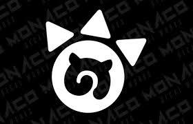 Kemono Friends Paw Mark Anime Logo Vinyl Decal Sticker Etsy