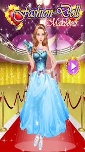 fashion doll makeover game for s