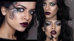 dark fairy tutorial halloween makeup