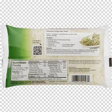 shirataki noodles nutrition facts label
