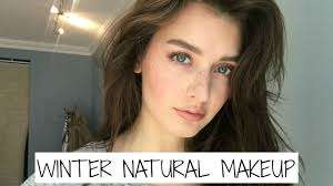 winter everyday natural makeup tutorial