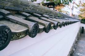 Japanese Temple Roof Tiles Stock Photo Picture And Royalty Free Image Image 103137721