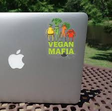 Vegan Mafia Laptop Sticker Car Sticker Laptop Decal Car Etsy