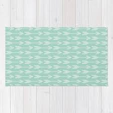 Arrow Print Area Rug 5x7 Boys Nursery Girls Baby Room Decor Etsy Kids Room Rug Playroom Rug Blue And White Rug