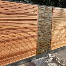 Canadian Western Red Cedar Screen Slats For Fencing Cladding Trellis 1 Bundle 1 83m