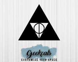 Triforce Wall Decal Etsy