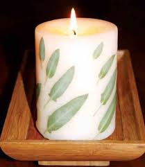 candle making with herbs healthy home