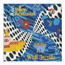 The Beatles Yellow Submarine Wall Decals Wall Decals Daedalus Books D06103