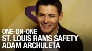 One-on-One with St. Louis Rams Safety Adam Archuleta - video dailymotion