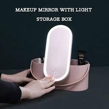 lights storage box led vanity mirror