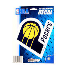 Indiana Pacers Nba Basketball Vinyl Decal 5 X7
