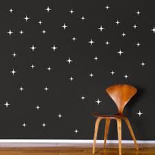 Stars Wall Decals Christmas Murals Star Wall Decals Wallpaper Decor Bedroom Kids Wall Decals