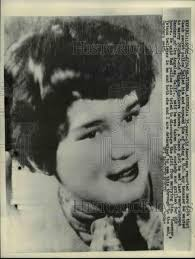 1958 Press Photo Tatana Kubikova, czech girl who Joseph Sanders wants |  Historic Images