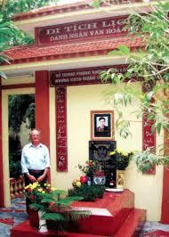 Cổng thông tin điện tử Quận Thanh Xuân | Nhà lưu niệm và mộ nhà ...
