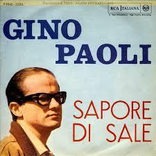 il CIELO IN UNA STANZA SAPORE DI SALE Gino Paoli 60