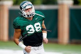 Michigan State's Byron Bullough ready to measure up when opportunity arises  - mlive.com