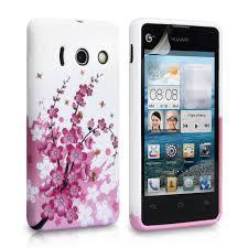 Huawei Ascend Y300 Floral Bee Gel Case ...