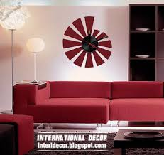Modern Wall Clock Stickers Styles Clock Stickers Colors