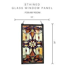 stained glass brandi s window panel