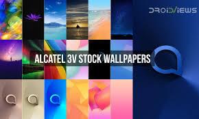 alcatel 3v stock wallpapers