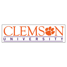 Tigers Clemson 12 Clemson University Strip Decal Alumni Hall