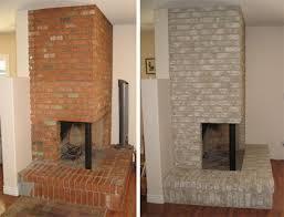 brick fireplace red brick fireplaces