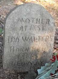 Ida Walters (1868-1924) - Find A Grave Memorial
