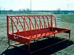 Cattle Feeder Fence Line Stanchion Apache Metal Multi Access Floor Mounted