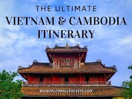 vietnam and cambodia itinerary