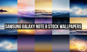 samsung galaxy note 8 stock wallpapers