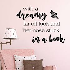 Nose Stuck In A Book Wall Quotes Decal Wallquotes Com
