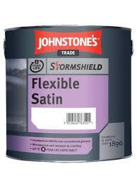 Johnstones Trade Stormshield Flexible Satin Colour Match