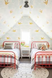12 Playful Bird Wallpaper Inspiration Photos You Ll Love Childrens Bedrooms Kid Room Decor Kids Bedroom