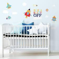 Shoot For The Moon Peel And Stick Wall Decals Roommates Decor
