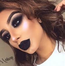 deep and dark makeup looks
