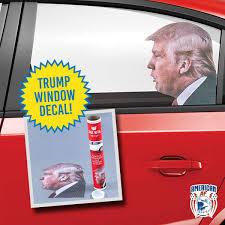 Ride With Trump Car Window Sticker American Af Aaf Nation