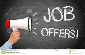 Job Offers - Recruitment And Human Resoures Stock Image - Image of ...