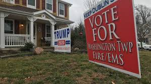 Trump 2020 Sign Staying Up Despite Order To Take It Down Says Dublin Woman Wsyx