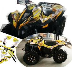 Brp Can Am Renegade Decals Kit 2006 2018 790y 38 00 Picclick