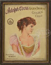 ADOLPH COORS ADVERTISING ILLUSTRATION.