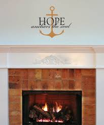 Wall Quotes By Belvedere Designs Black Copper Hope Anchors Your Soul Wall Decal Best Price And Reviews Zulily