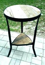 round reclaimed wood coffee tables bcasa