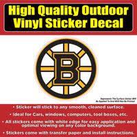 Boston Bruins Hockey Vinyl Car Window Laptop Bumper Sticker Decal Colorado Sticker
