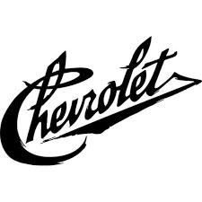 Vintage Chevrolet Decal Sticker Vintage Chevrolet Thriftysigns