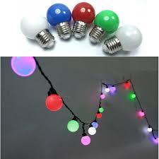 Bóng đèn LED tròn nhiều màu 2W, giá chỉ 20,000đ! Mua ngay kẻo hết!