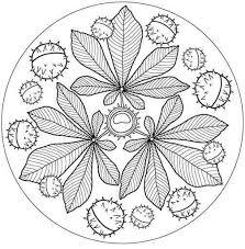 Oszi Mandala Kleurplaten Herfst Knutselen Mandala Kleurplaten