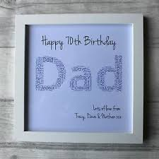 70th birthday gifts for men grandad