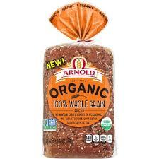 arnold organic 100 whole grain bread
