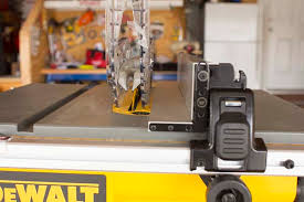 Help With Dewalt Table Saw Fence Configuration Woodworking