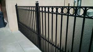Decorative Wrought Iron Fence Panels Krinkglass Panels Are Great To Add To Any Gate For Added Privacy Procura Home Blog Decorative Wrought Iron Fence Panels